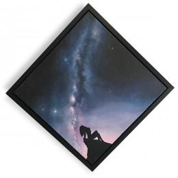 Awake - ORIGINAL Acrylic Milky Way Painting