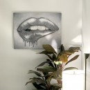 Luscious Lips of Liquid Glitter Giclee Print