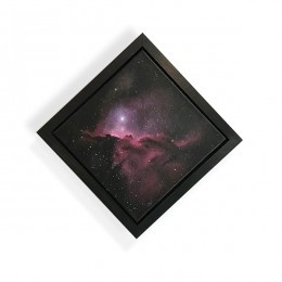 Dragons of Ara Nebula - ORIGINAL Acrylic Painting