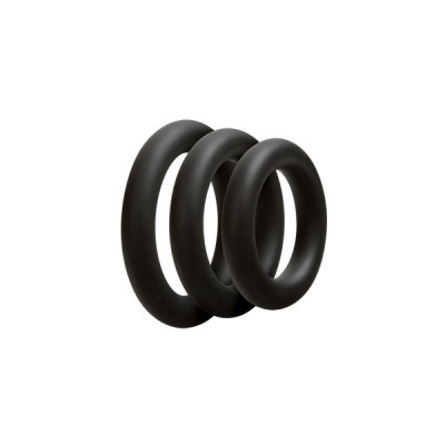 Doc Johnson Optimale Cock Ring Set (3) - Thick
