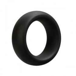 Doc Johnson OptiMALE Cock Ring - Extra Thick Black