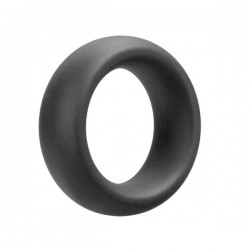 Doc Johnson OptiMALE Cock Ring - Extra Thick Gray