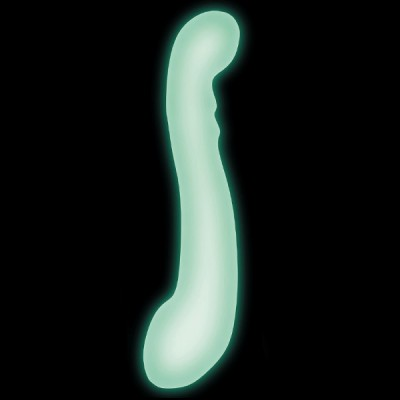 "Dorcel So Phospho 8"" Silicone Glow-In-The-Dark Dildo"