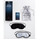 Fifty Shades of Grey Soft Twin Blindfold Set