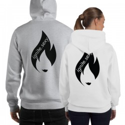 IGNITE Unisex Hoodie - Black Icon