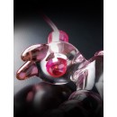 Icicles No. 16 Vibrating Rabbit Glass Dildo