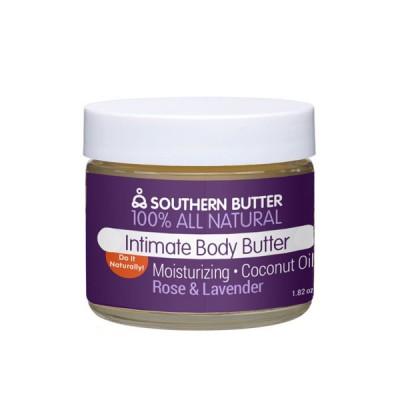 Southern Butter Natural Lube - Rose & Lavender 2 oz Jar