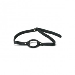 XR Brands Strict Leather Open Mouth Ring Gag