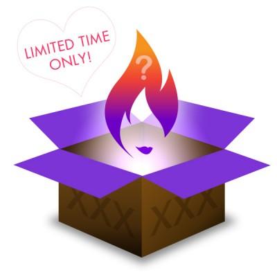 Valentine's Day Sexy Secret Pleasure Gift Box
